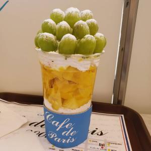 韓国のフルーツは本当に甘い!カフェドパリでダブルボンボンを堪能〜♡