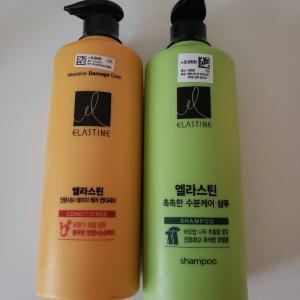 韓国のダイソーで試しに買ってみた900mlのシャンプー&コンディショナー!