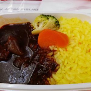 10月の羽田⇄金浦のJALの機内食