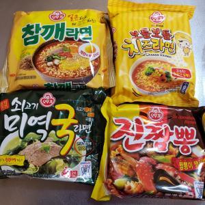 韓国ラーメンの好きな食べ方(作り方)