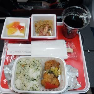 金浦空港→羽田空港の機内食は~?