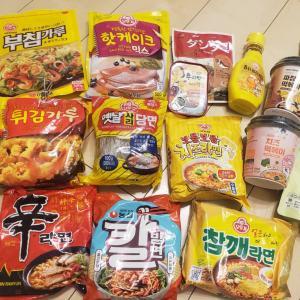 家にある韓国食材と韓国のインスタントラーメンで1番好きなものは?