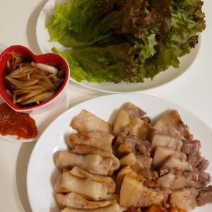 韓国の焼肉屋さんの味!おうちサムギョプサル!