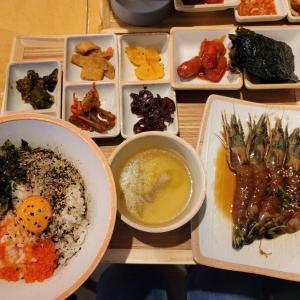 新大久保で韓国グルメ!カンジャンセウ定食とポッサム定食