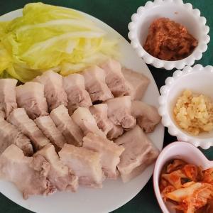簡単なのに時間がかかる韓国料理『ポッサム』を作りました~