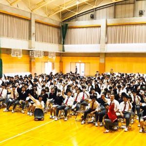 名古屋経済大学高蔵高校で出張授業でした!!