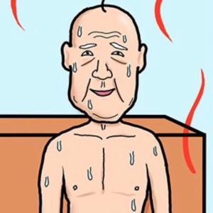 【毎週木曜更新】4コマ漫画『芸人のはなし 20』:サウナでの交流のはなし