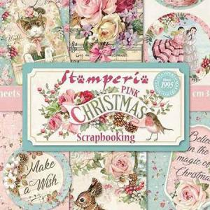NEW Stamperia スタンぺリア Pink Christmas!