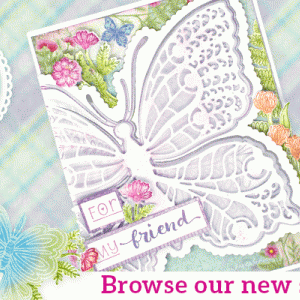 Heartfelt Creationsの Floral Butterflyコレクション♪