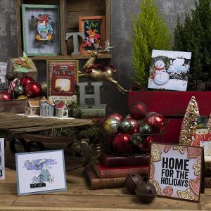 Tim Holtz 2021 Sizzix Winter &Christmas!