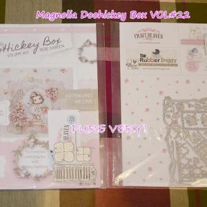 Magnolia Doohickey Box VOL#22(ROSEGARDEN)