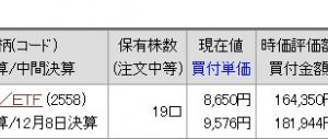 今日の日本市場は希望価格とかけはなれていました