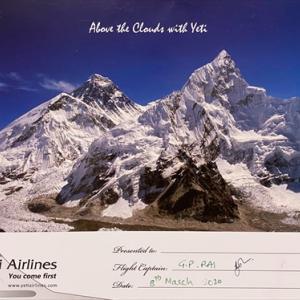 霊峰エベレスト
