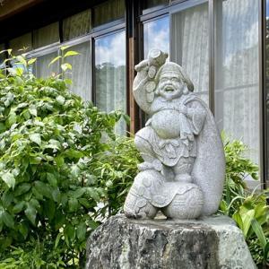 「 大黒さん 」 石像彫刻