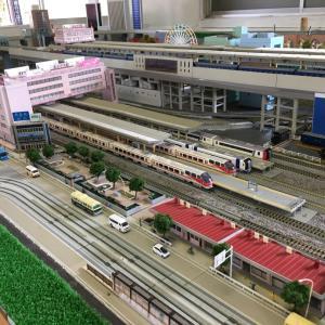 「ナガテツ鉄道ジオラマ」再開! 20200704