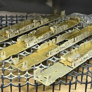キハ8500系 プライマーと下地塗装 20210609