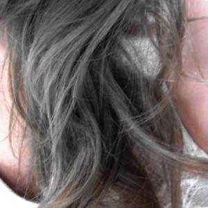 髪の毛けけけ~♪