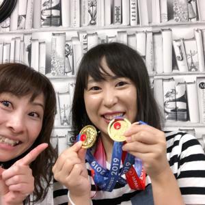 金メダル獲得!