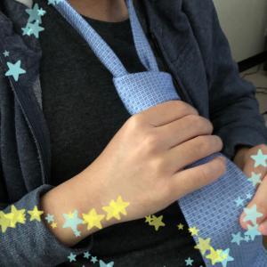 ネクタイの練習