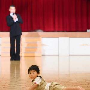 6周年記念パーティー☆主催者挨拶中の、、、