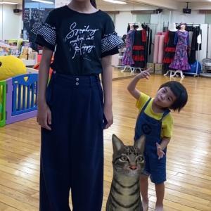 猫ちゃんとハイチーズ♡スクスク成長!!!