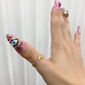 手の指輪♡