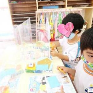 幼稚園のコロナ対策☆