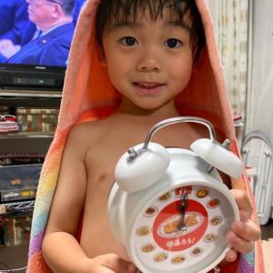 餃子の王将の目覚まし時計☆
