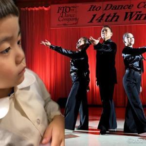 4歳児が何回も見たがり感動するファミリーダンス♡