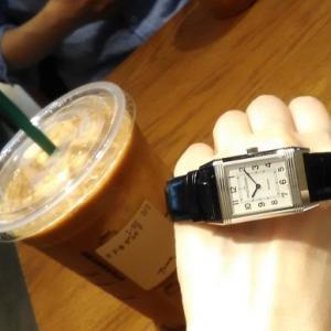 追記)スターバックスこそ、腕時計を最高に楽しめる場所と言えるでしょう!!