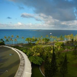 2019年GWは天国に一番近い島へ・・4日目海を見ながらのんびり朝食♪