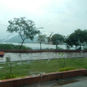 2019年9月ゴールデントライアングル@インド・・大変!ピンクシティーが水浸し。