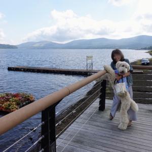 富士五湖巡り。仲良しこよしのパノラマ台。