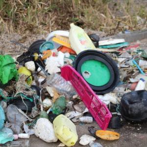 海岸漂着ゴミの分別