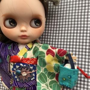 雛祭り晴れ着を出品しました(*^▽^*)