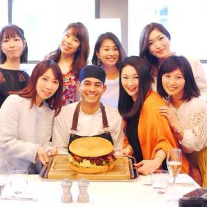 新元号祝!金粉の贅沢なゴールデンジャイアントバーガー試食第1号☆グランドハイアット東京オークドア