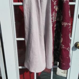 6枚はぎフレアースカート。