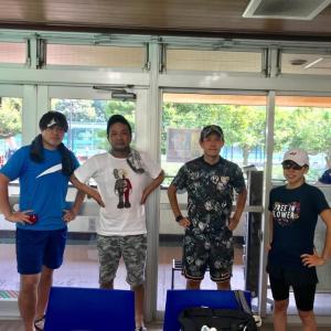 ダブルス戦術形式レッスン4時間in三ツ沢公園テニスコート