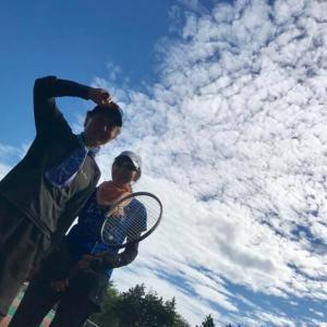 逆ナンしてきた夫婦生徒さんに初レッスン in 岐阜県 養老公園テニスコート