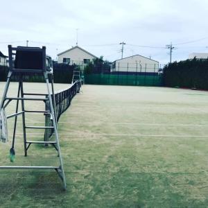 以前僕が優勝した狛江市の某テニスコートでプライベートレッスンしてきたよ