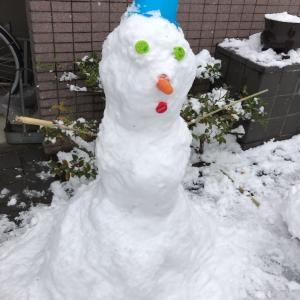 ホラー雪だるま