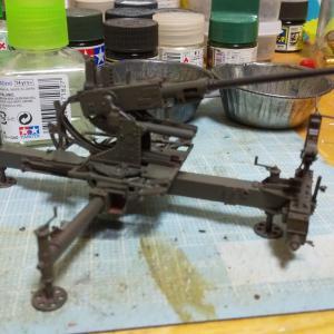 ボフォース40ミリ機銃製作記20191119