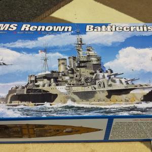 1/350模型 イギリス 巡洋戦艦レナウン