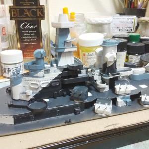 アメリカ戦艦ノースカロライナ製作記20200623