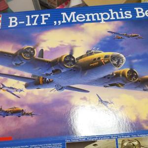 アメリカ大 B-17 フライングフォートレス 1/72 制作記20190619