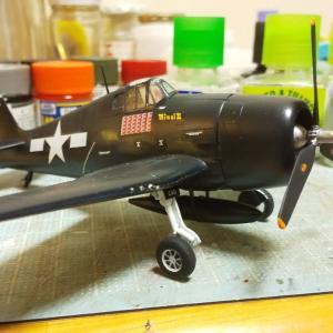アメリカ戦闘機 F6F ヘルキャット