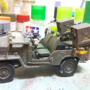 73式小型トラック67式対戦車誘導弾