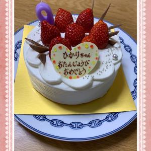 ケーキでお祝いと素敵なカレンダー(*^_^*)