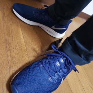 マラソン用の新しい靴