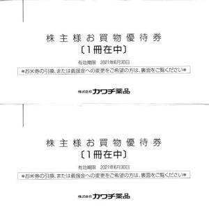 [2664]カワチ薬品 株主優待